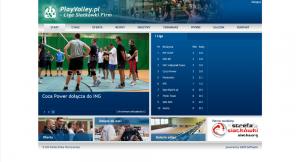 PlayVolley.pl - Liga Siatkówki Firm
